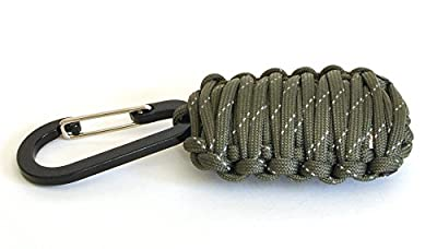 Complete Grenade-Style Paracord Survival Kit With Accessories from Adamant