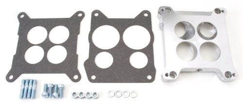 Edelbrock 2696 Four-Hole Square-Bore to Spread-Bore Carburetor Adapter (Edelbrock Carburetor Adapters compare prices)