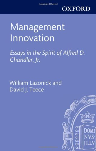 essays on innovation management This individual learning reflective essay will discuss  the key to innovation for entrepreneurship is  time management has always been an area i have.