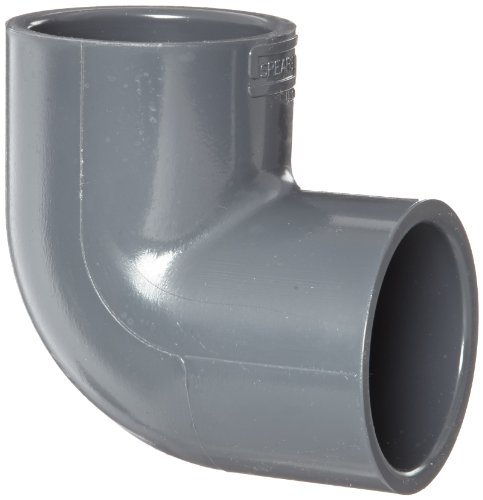 """Spears 806 Series Pvc Pipe Fitting, 90 Degree Elbow, Schedule 80, 1"""" Socket"""