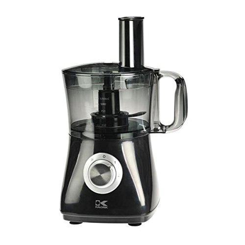 Kalorik HA 31535 Black 7 Cup Capacity Food Processor W/ Two Speed Control