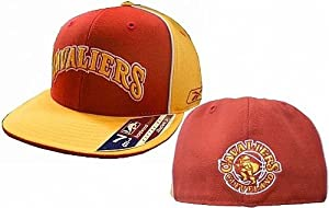 Cleveland Cavaliers Hardwood Classics Fitted Hat Size 7 by Reebok