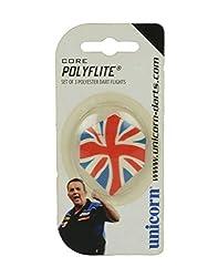 Unicorn Poly Flite Plus (Union Jack) Dart Flights