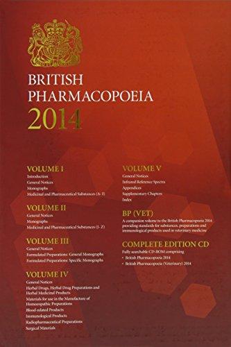 British pharmacopoeia 2014 [Print & CD-ROM & Online access]