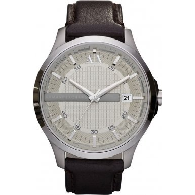Armani Exchange AX2100 Mens WHITMAN Dark Brown Watch