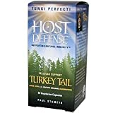 Host Defense Fungi Perfecti Turkey Tail, 60 capsules