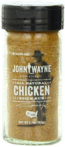 John Wayne Spice Rub, Chicken, 2.7 Ounce