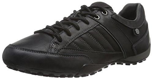 geox-herren-uomo-snake-b-sneakers-schwarz-blackc9999-41-eu