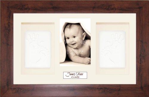 BabyRice Baby Handprint & Footprint Soft Clay Dough Kit - XL ...