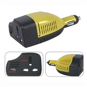Imoove convertisseur transformateur de tension charge - Transformateur 12v 220v allume cigare ...