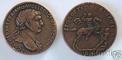 (DD S 50) Sestertius of Trajan COPY