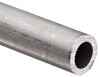 Aluminum 6061-T6 Extruded Round Pipe, Schedule 40, ASTM B221