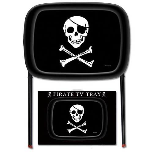 Accoutrements Pirate TV Tray (Kids Metal Tv Tray compare prices)