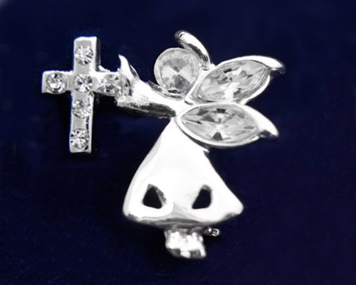 Religious Pin- Angel By My Side (27 Pins)