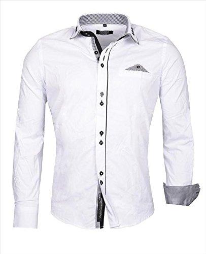 Carisma Hemd Polohemd Herrenhemd CR16 8249 weiss Größe XL