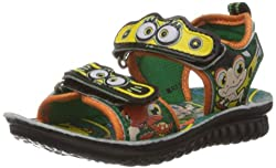 Footfun (from Liberty) Phantom-5 Green Floaters and Sandals - 5 kids UK/India (22 EU)