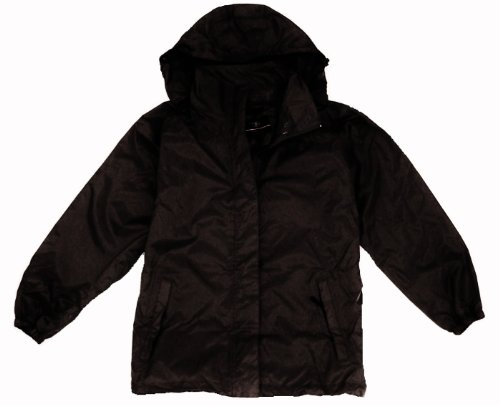 Mens Medium Black Waterproof, Windproof, Breathable Jacket
