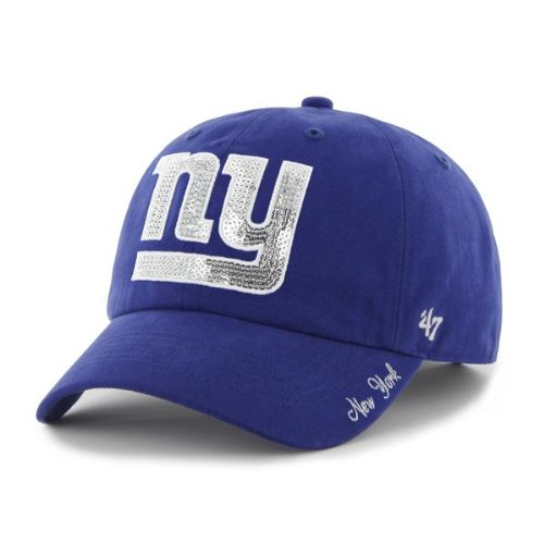 NFL New York Giants Breast Cancer Awareness Clean Up Cap, Royal, One Size at Amazon.com
