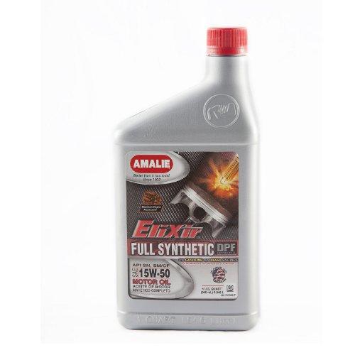 Amalie 160 75736 56 12pk 15w 50 Elixir Full Synthetic