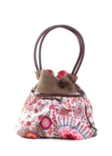 Desigual Handbags Bols Ibizaarqui Dominic 32X5176 Shoulder Bag,Algodon,One Size