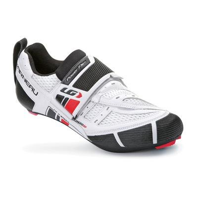 Louis Garneau Men's Tri X-Speed Triathlon Cycling Shoes - (White - 44)