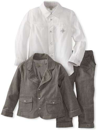 Best KANZ Baby Baby-Boys Infant 3 Piece Suit Set, Cloudburst, 18 Months