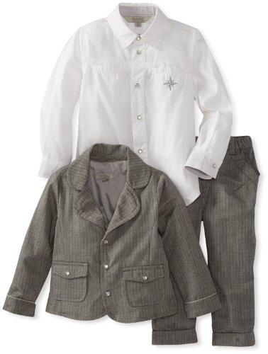 Best KANZ Baby Baby-Boys Infant 3 Piece Suit Set, Cloudburst, 18 Months