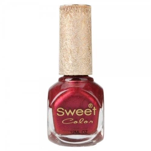 Sweet Color Environmental Protection Nail Polish Red 12Ml Sku: 10005567 front-308681