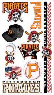 MLB Temporary Pittsburgh Pirates Tattoo