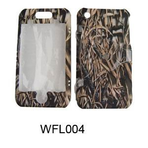 Apple iPhone 1G/2G Camo/Camouflage Hunter Series Dry Grass Hard Case/Cover/Faceplate/Snap On/Housing/Protector