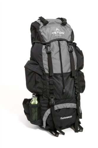 TETON Sports Explorer 4000 Internal Frame Backpack (Grey)