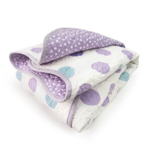 Why Choose CoCaLo Mix & Match Violet Coverlet, Jumbo Dot/Dottie
