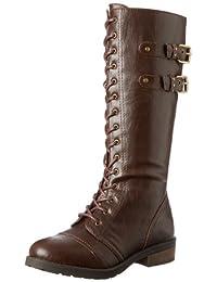 White Mountain Women's Frontman Combat Boot