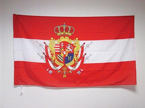 BANDIERA GRANDUCATO DI TOSCANA 90x60cm - BANDIERA TOSCANA - ITALIA 60 x 90 cm foro per asta - AZ FLAG