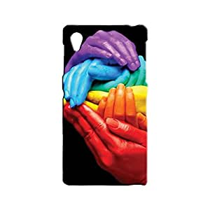 BLUEDIO Designer 3D Printed Back case cover for Sony Xperia Z1 - G5287