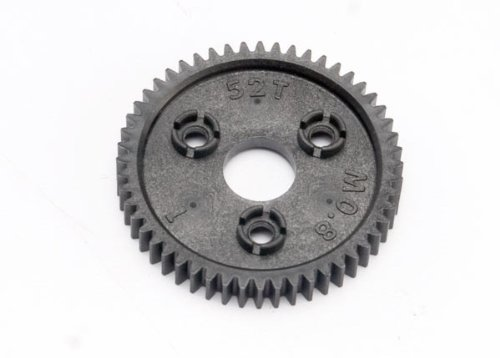 Traxxas 6843 0.8 Metric Pitch Spur Gear Compatible with 32P 52T - 1