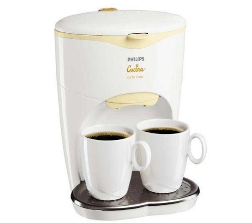 caf philips cafeti re duo filtre 2 tasses. Black Bedroom Furniture Sets. Home Design Ideas