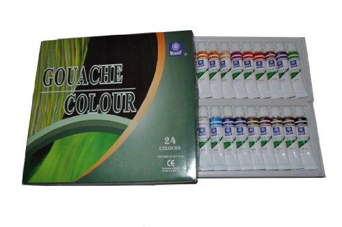 memory-professional-artists-gouache-paint-set-24-colours-in-12ml-alumenium-tubes-retail-packed