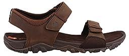 Merrell Men\'s Telluride Strap Sandal, Clay, 12 M US