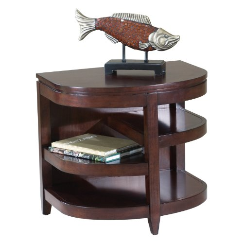 Image of Magnussen T1096-06 Newark Demilune End Table (T1096-06)