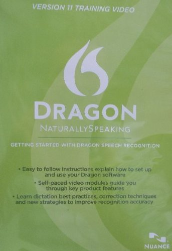 Nuance Dragon Naturally Speaking. Version 11. Training Video (Win, ENG)