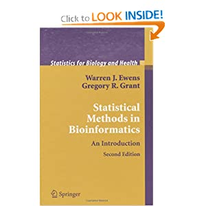 Textbook – Statistical Methods in Bioinformatics