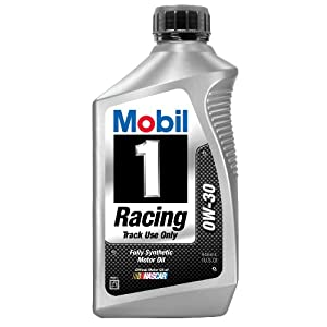 Mobil 1 98gd07 Racing 0w 30 Synthetic Motor Oil Track Use