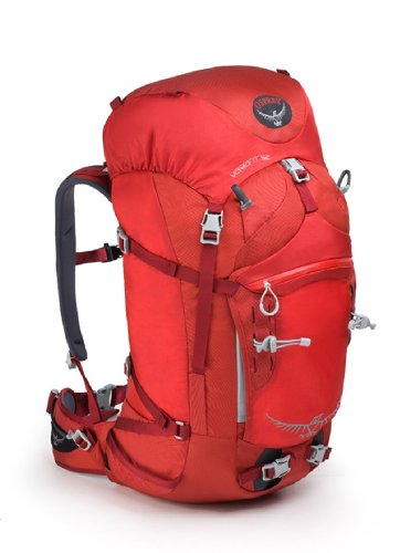 B001ERXDVG Osprey Variant 52 Pack, Pyro Red, Medium