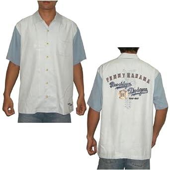 Womens dodgers shirt on shoppinder for Mens silk shirts amazon
