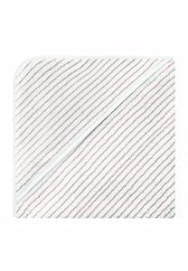 Bellybutton 10872-90645 - Toalla con capucha para bebé, diseño de rayas, color blanco y beige - BebeHogar.com