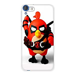 Ajay Enterprises Red Angry Bird Back Case Cover for HTC Desire 820