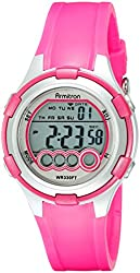 Armitron Sport Women's 45/7053LTG Digital Purple Resin-Strap Watch