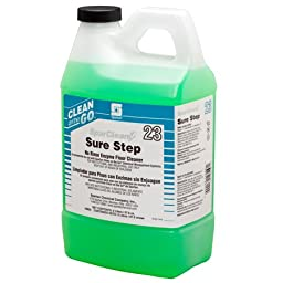 SparClean Sure Step 23 Clean On The Go Dispensed # 480202, 4-2Liter -(1 CASE)