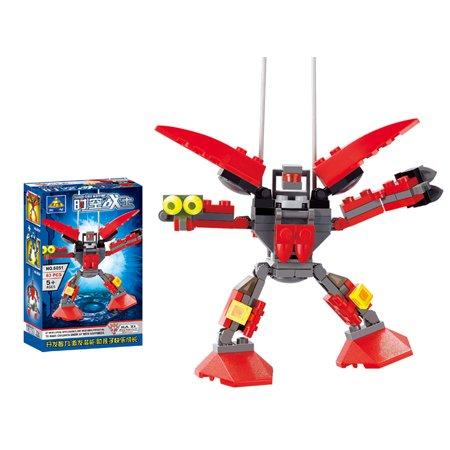 Deformation Robot Series 6051 Space-time Warrior Building Bricks - 1
